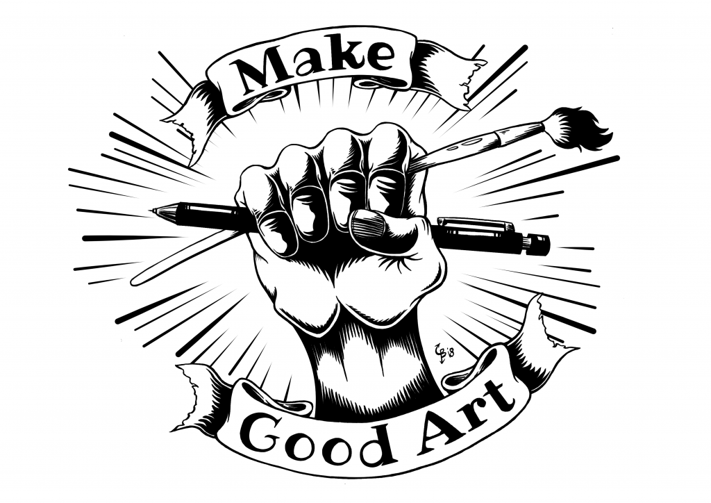 posters: Make good art